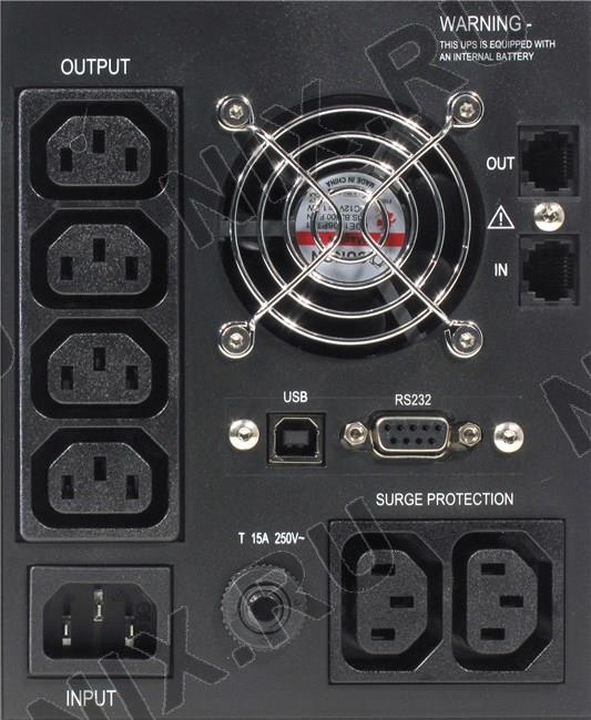 Источник бесперебойного питания Ippon Smart Power Pro 1400 Black.